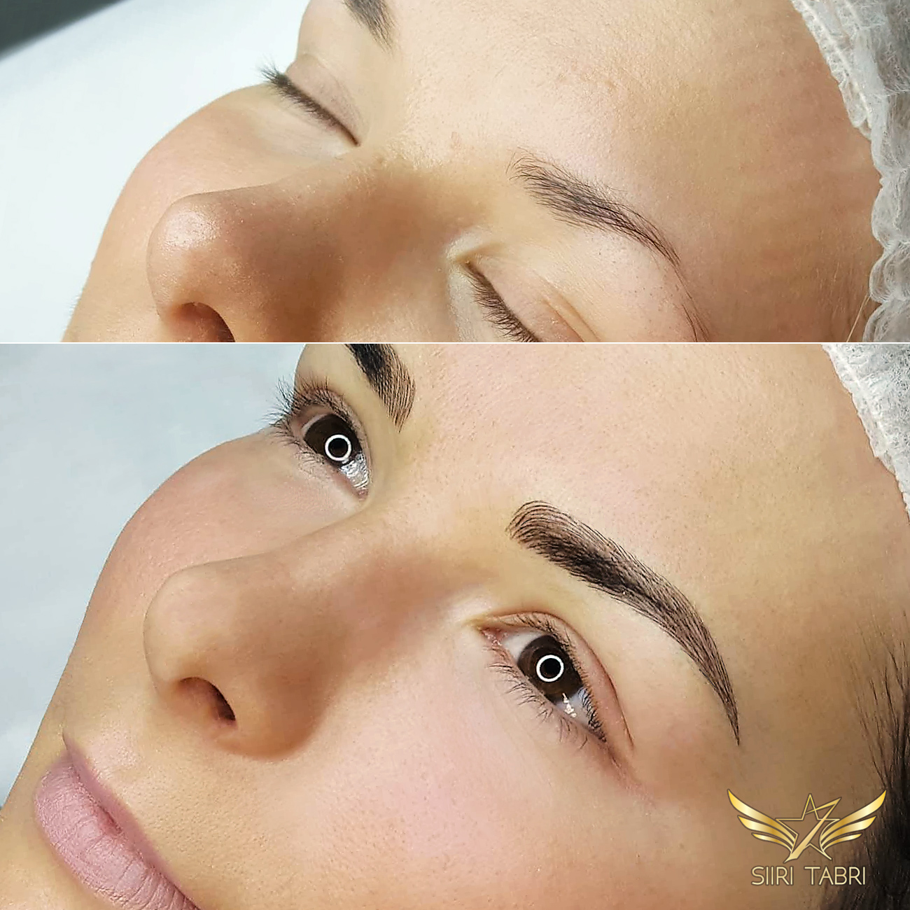 Light microblading. Brows enhanced the right way will change the overall look of the face entirely. So far the light microblading technique has produced the best results.