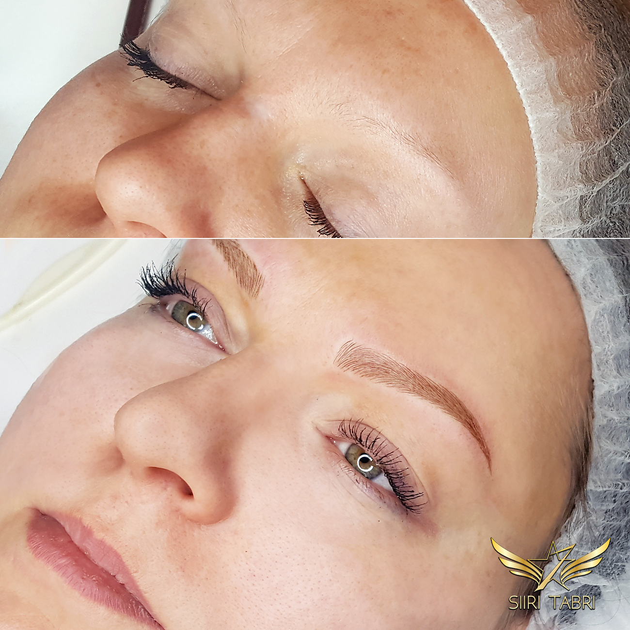 SharpBrows Light microblading. Brows created from literally nothing at all. With Light Microblading the results are still amazing.