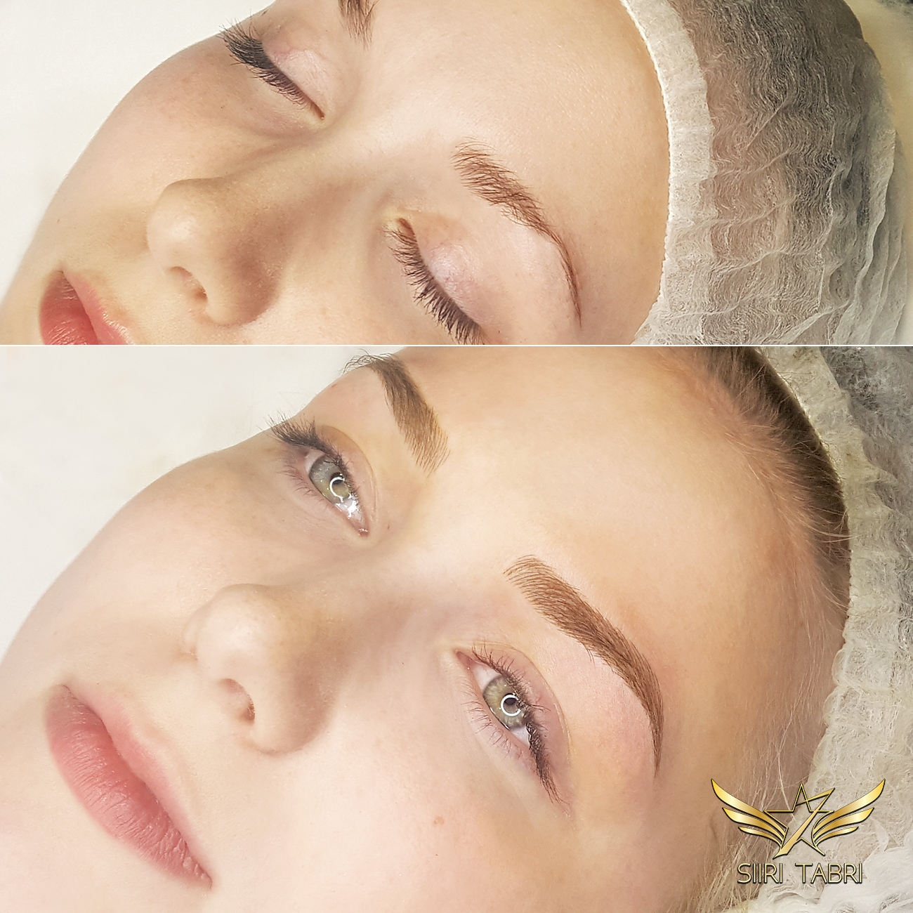 SharpBrows Light microblading - This is incredible how face actually changes when brows are fixed with light microblading.
