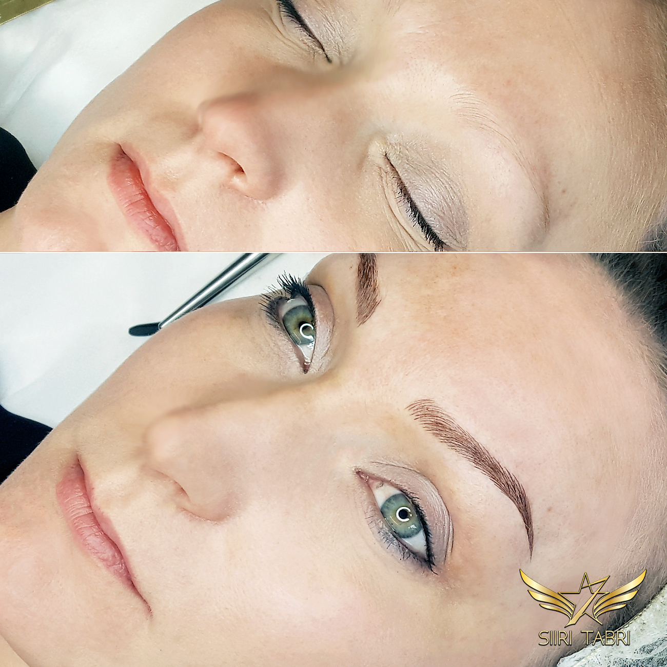 SharpBrows Light microblading - Total change in brows fast and easy with Light microblading.