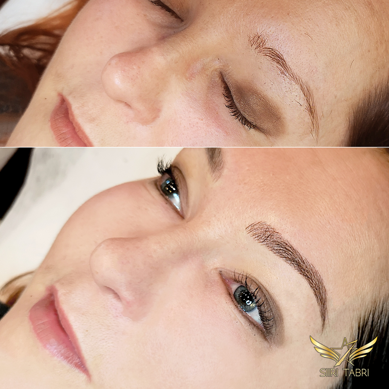 Light microblading. Another superb change with the Light microblading technique.