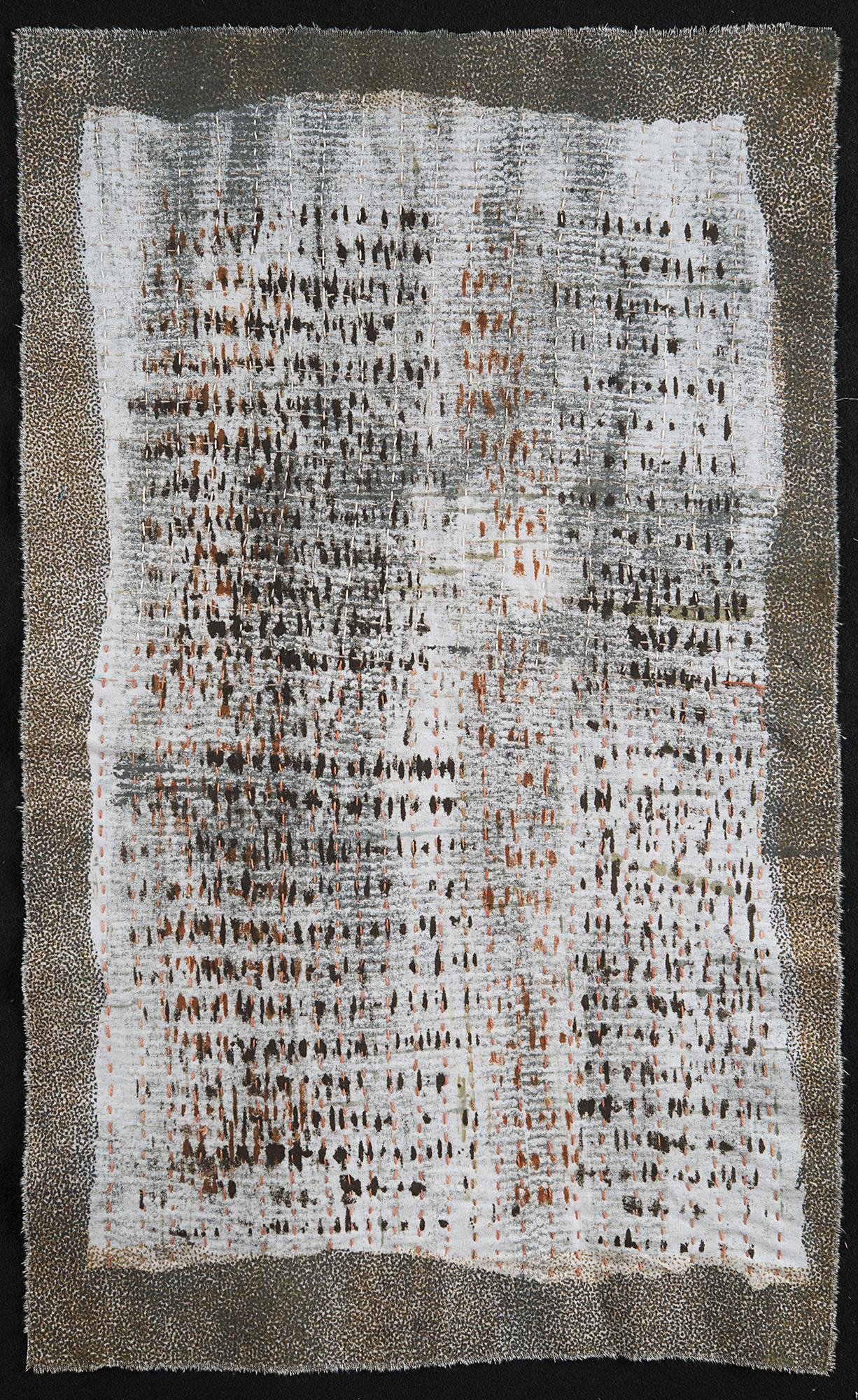 "Manuscript 1  Judy Langille  16"" x 26"""