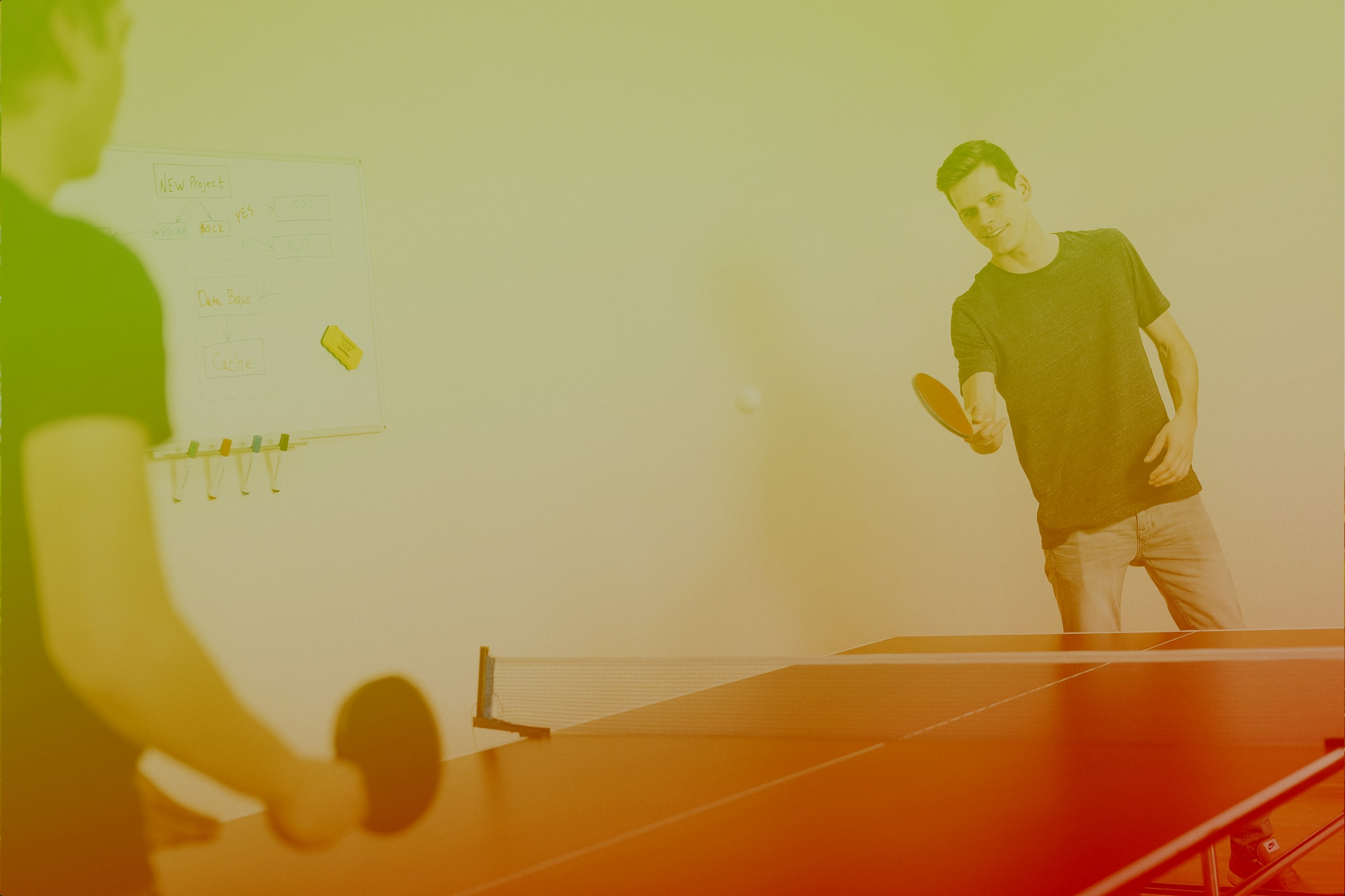 Anyone up for ping pong (or other games)?