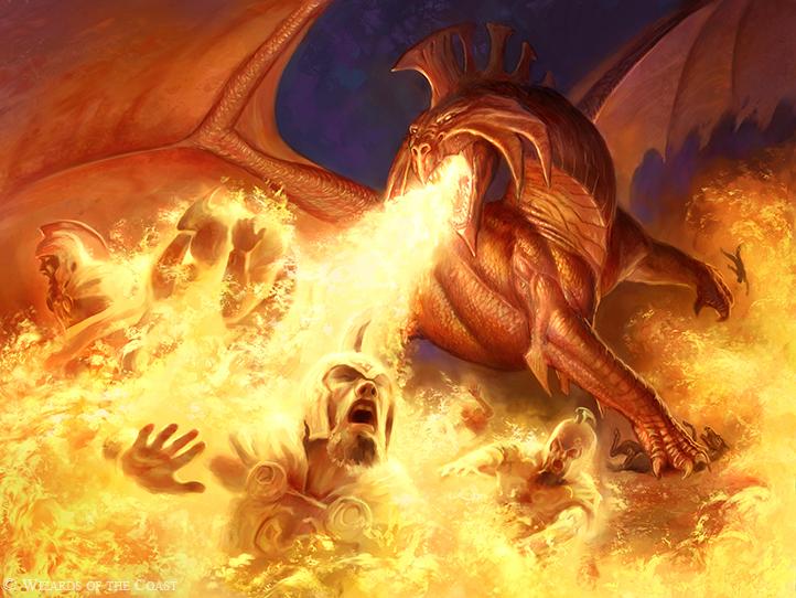Drake Dragon Fantasy Art