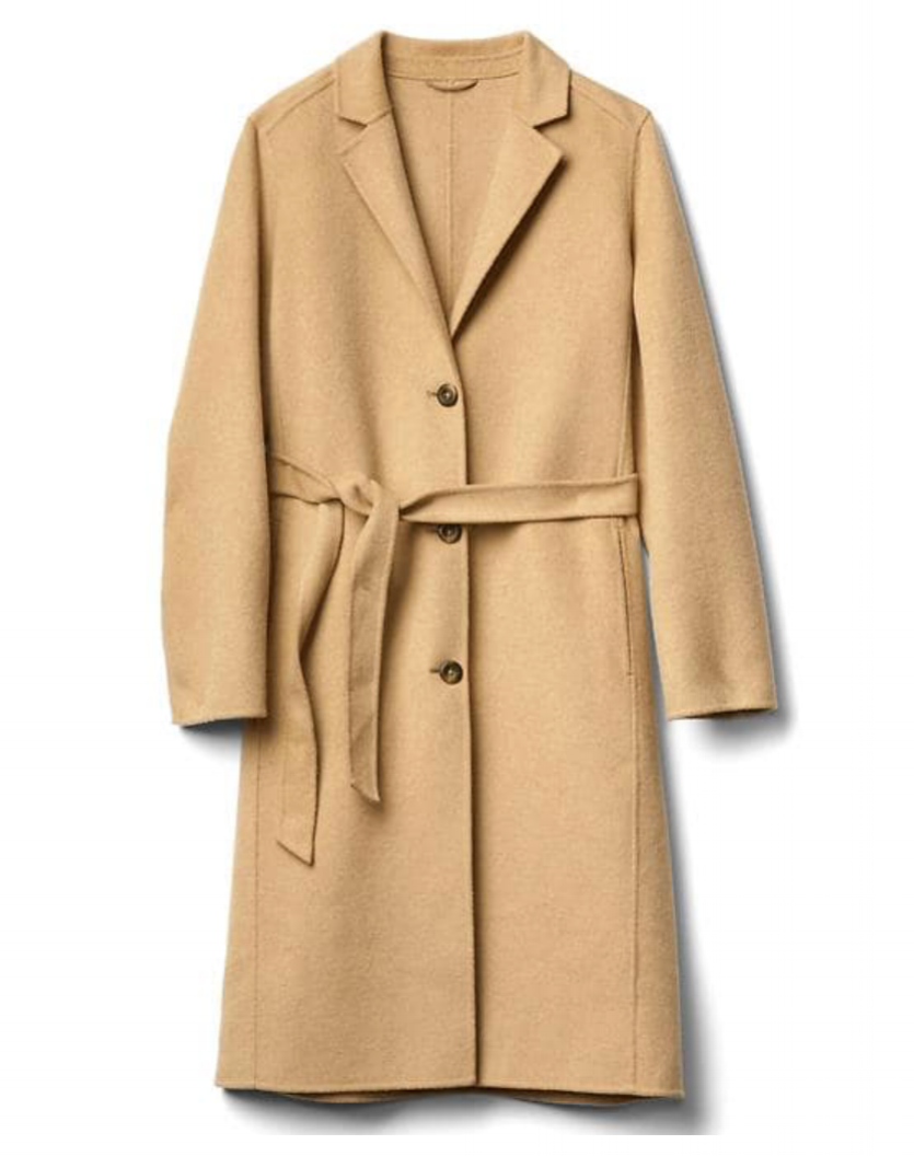 Gap: Classic Wool Coat     -