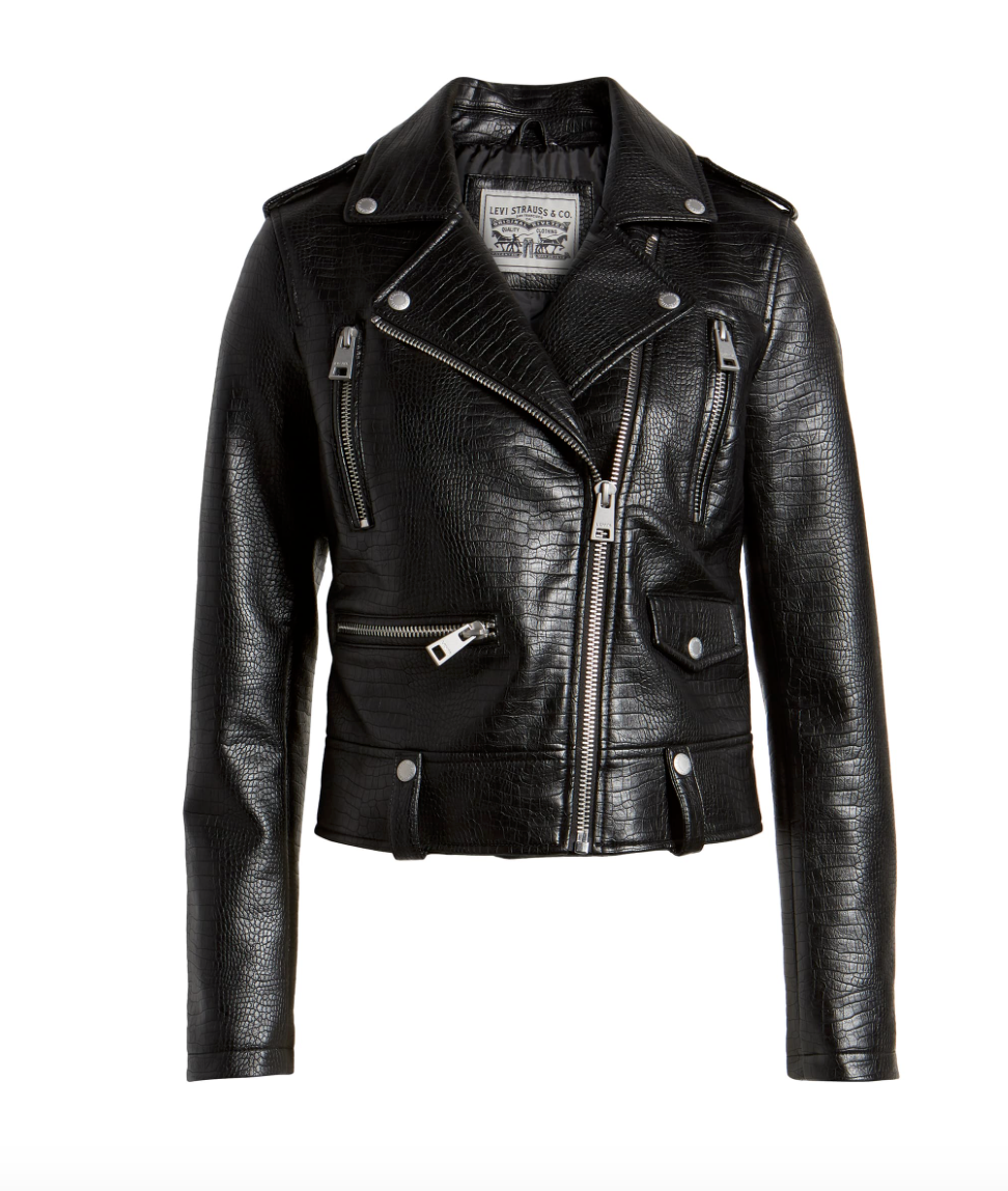 Levi's Leather Jacket $99.90