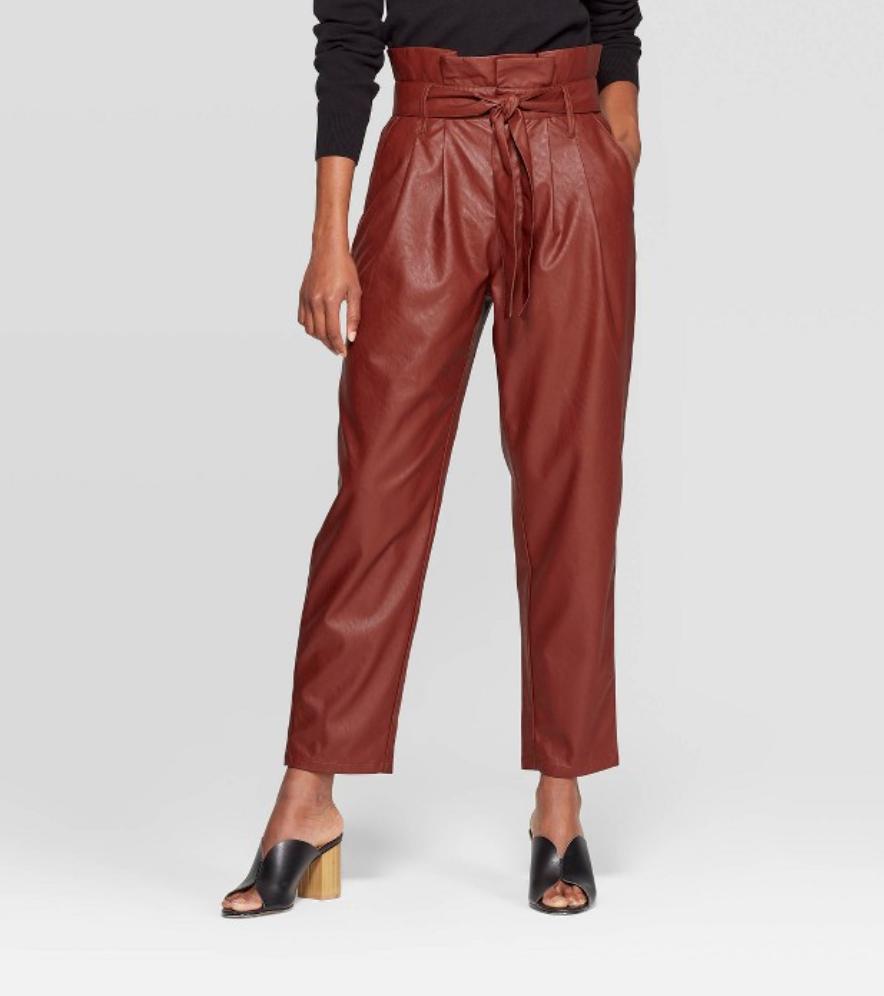 Target Paperbag Pants $34.99