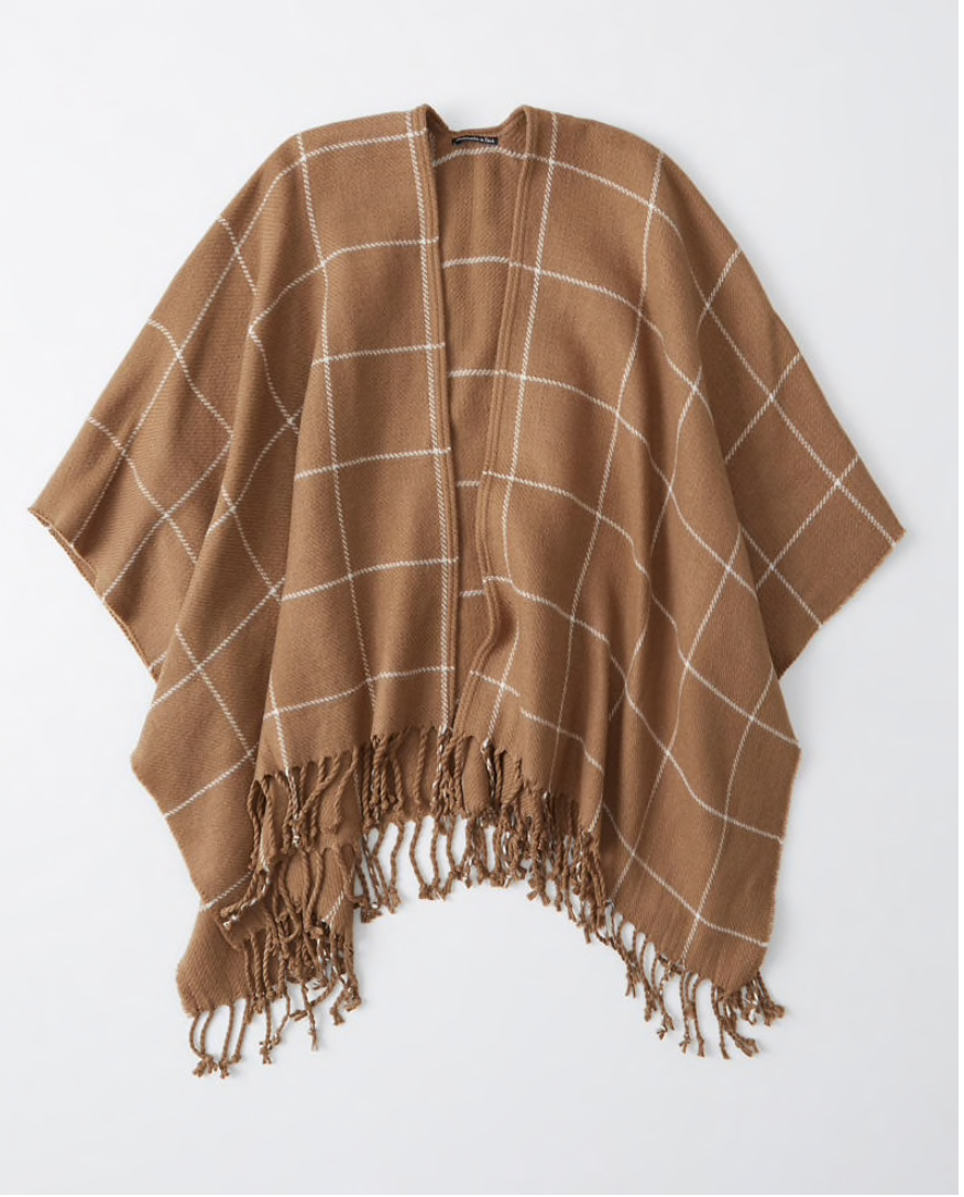 Abercrombie & Fitch Poncho $48