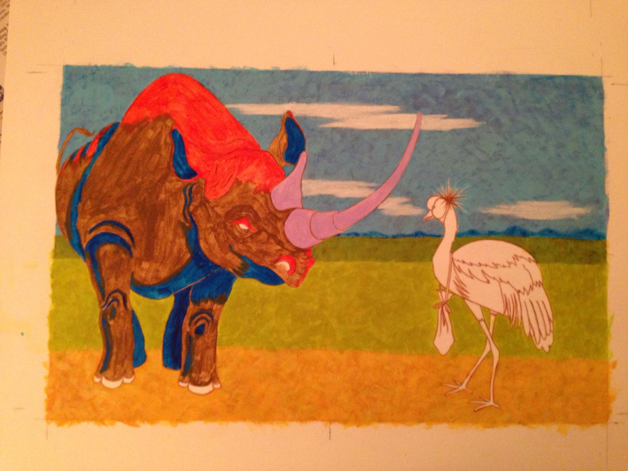 Rhinoceros #1