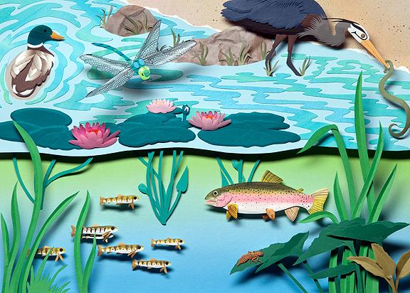 Lake Creatures © Denise Ortakales