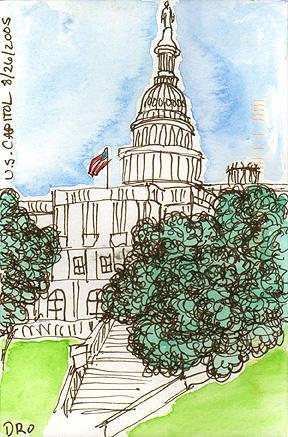 US Capitol © 2005 Denise Ortakales