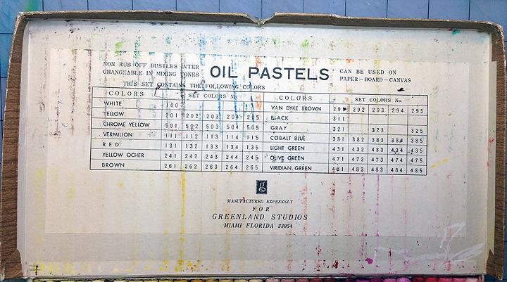 oil pastels covera
