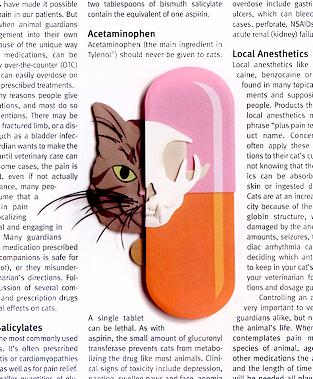 Bad Medicine, paper sculpture © Denise Ortakales
