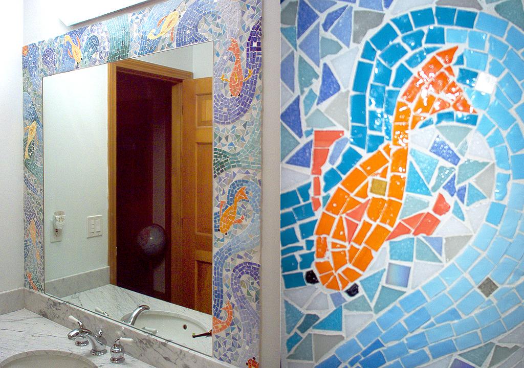 Goldfish Mosaic © Denise Ortakales