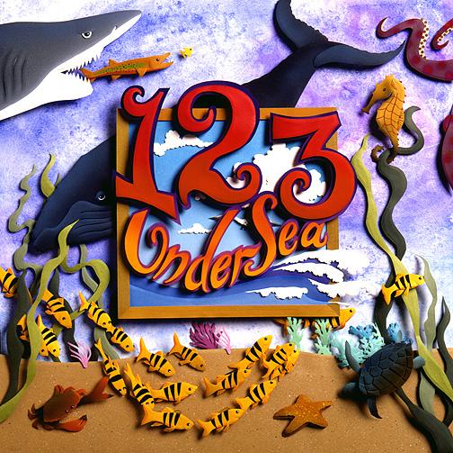 123 Undersea, paper sculpture © Denise Ortakales