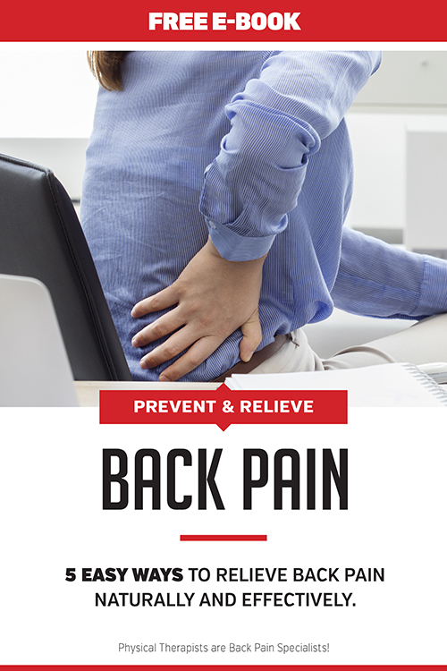 Sign up for more information on our program as well as a free eBook on back pain!
