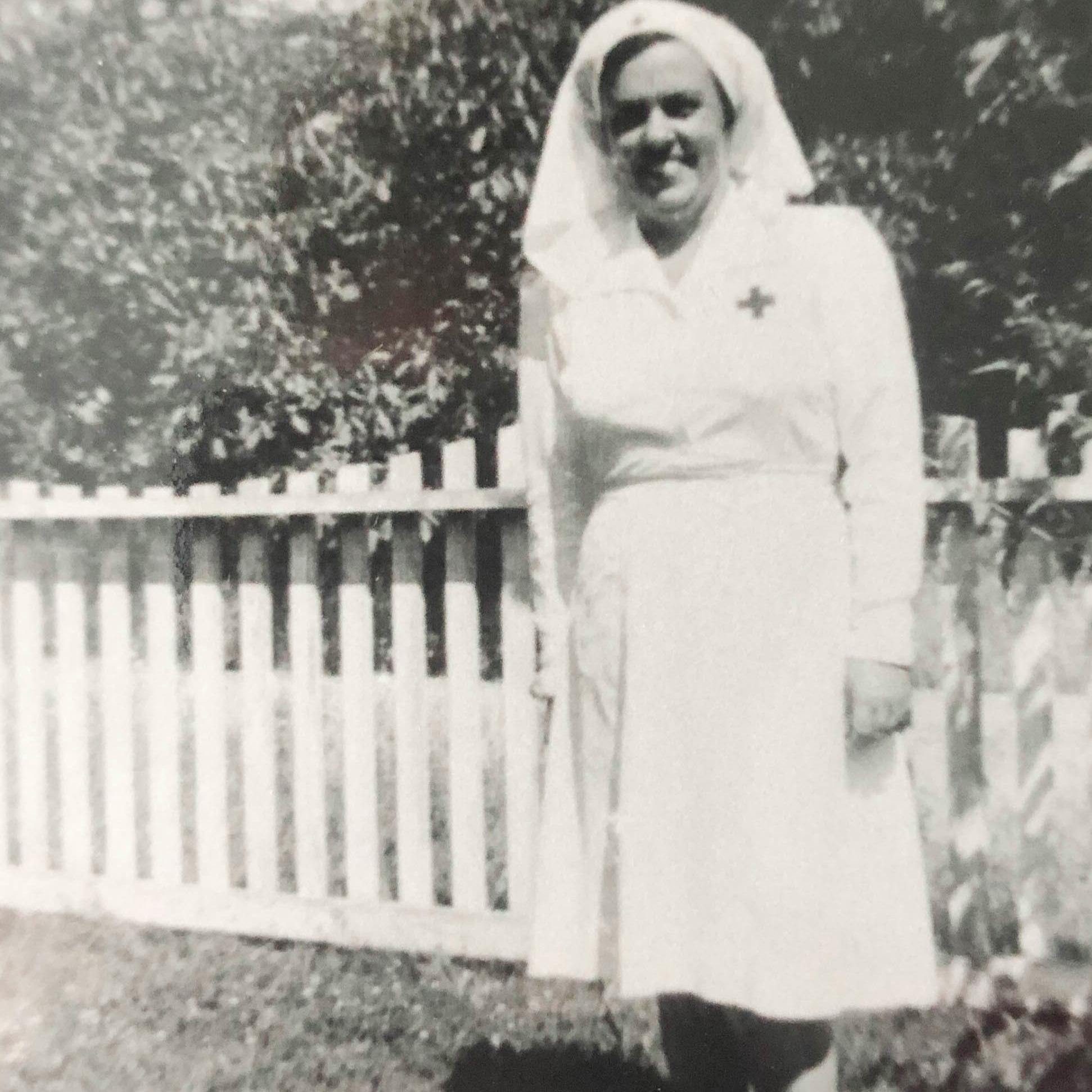 Doris Macomber in uniform