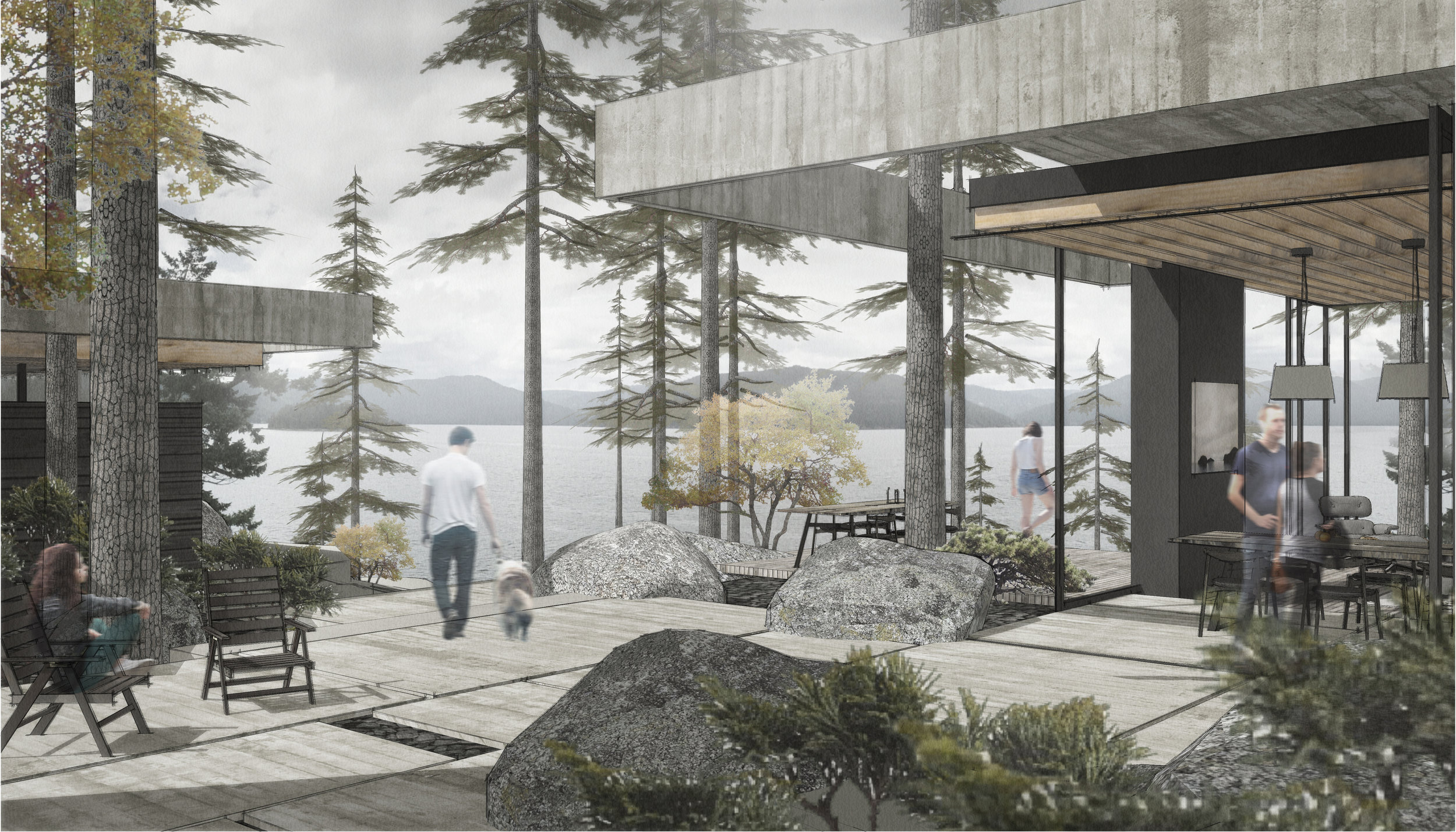 Saanich Inlet Residence