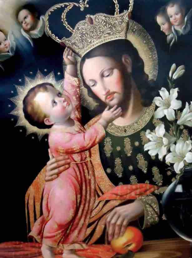 St Joseph and the Child Jesus