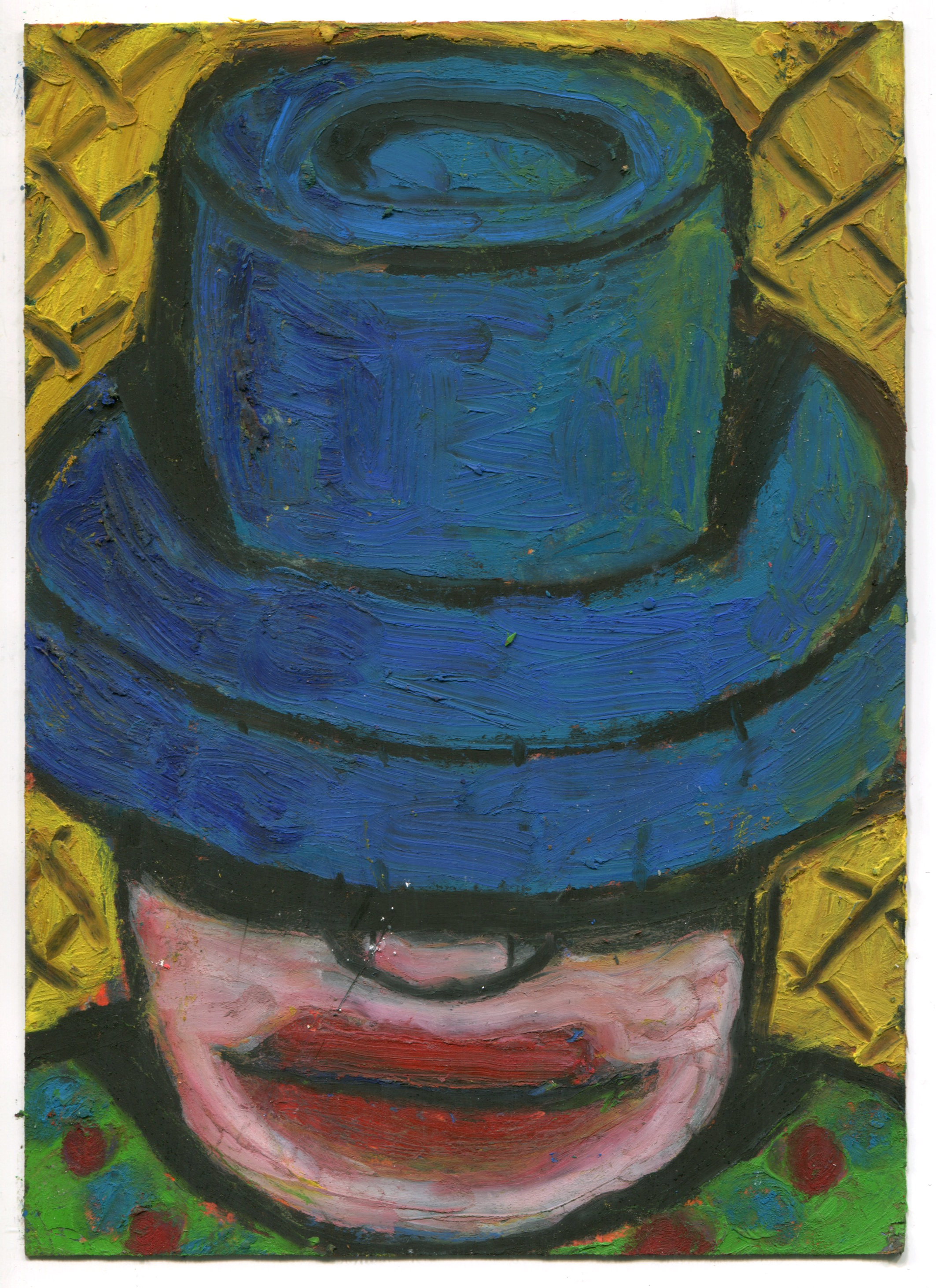 Blue Hat (After Holly Mountain)