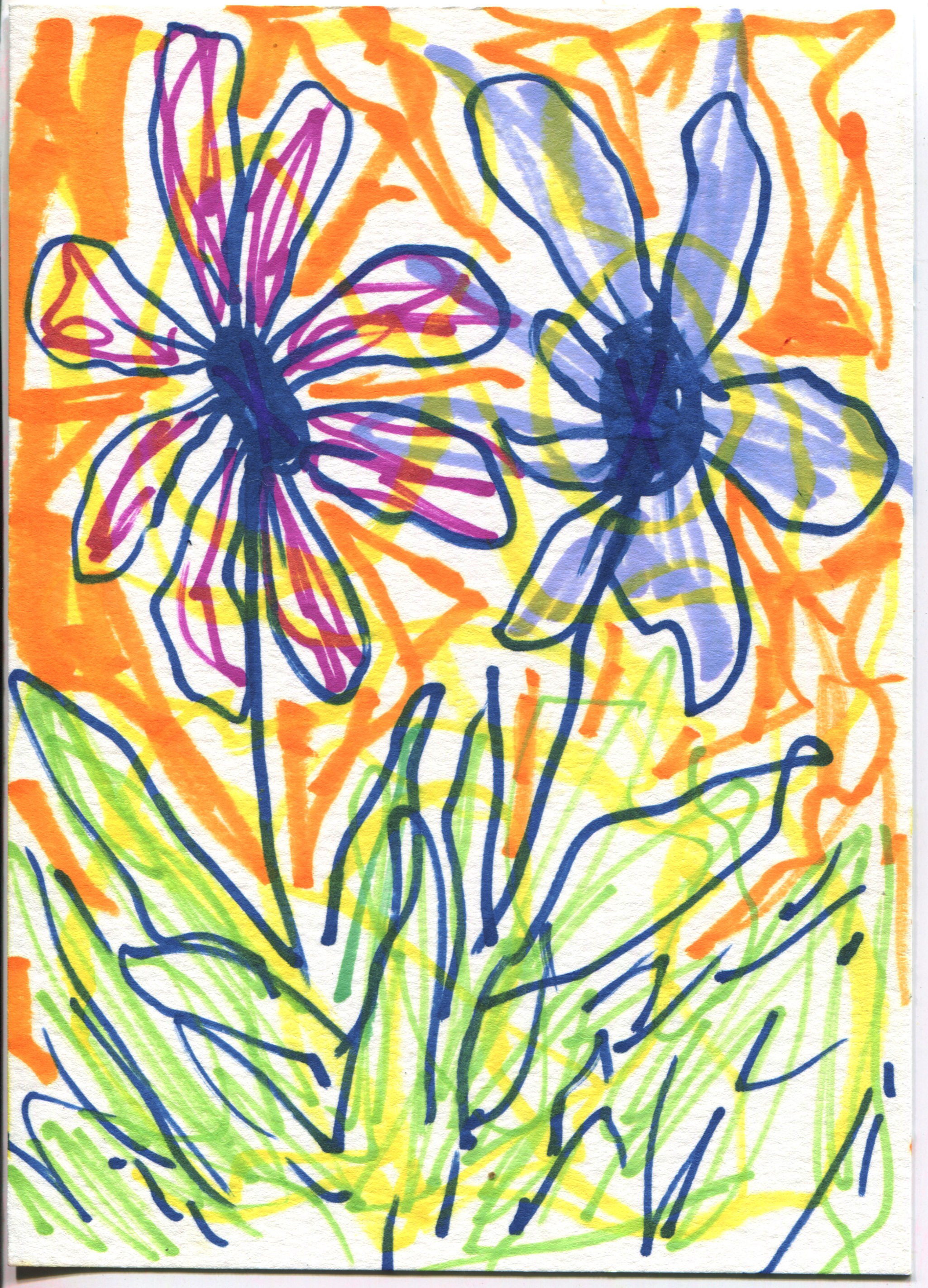 Flowers of Two Colors