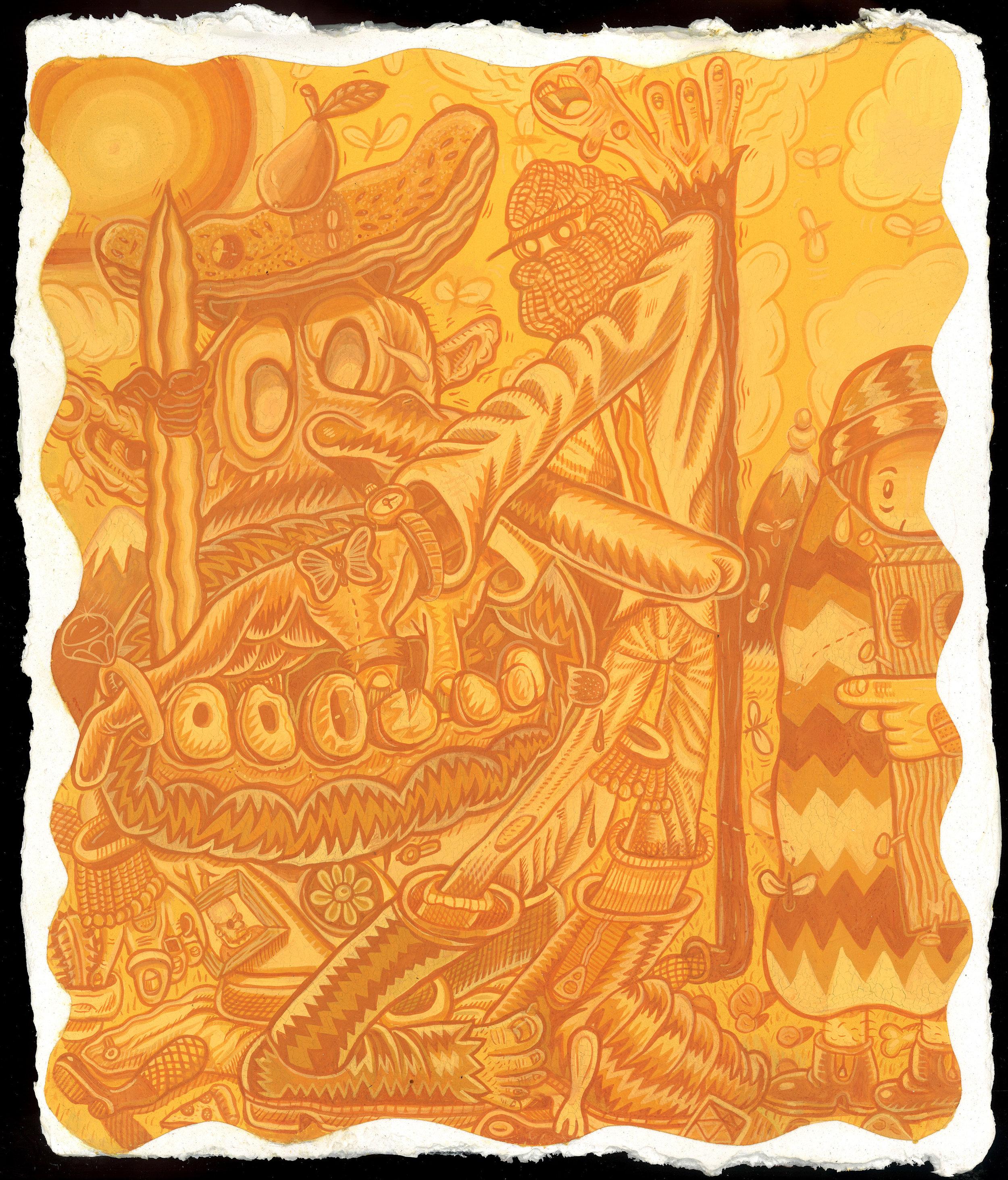 The Dick-Tater (Yellow-Orange)