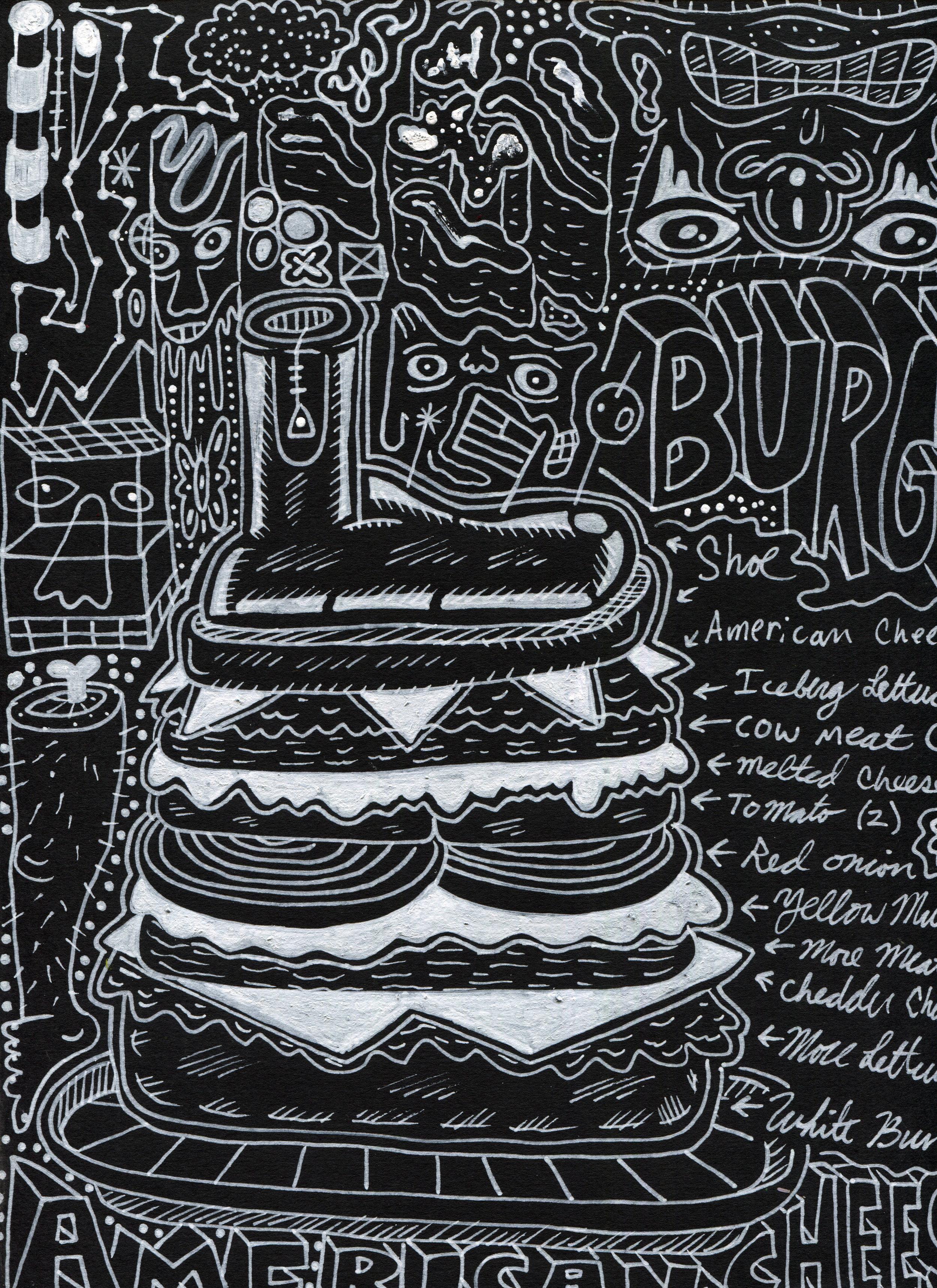 Cheeseburger Boot