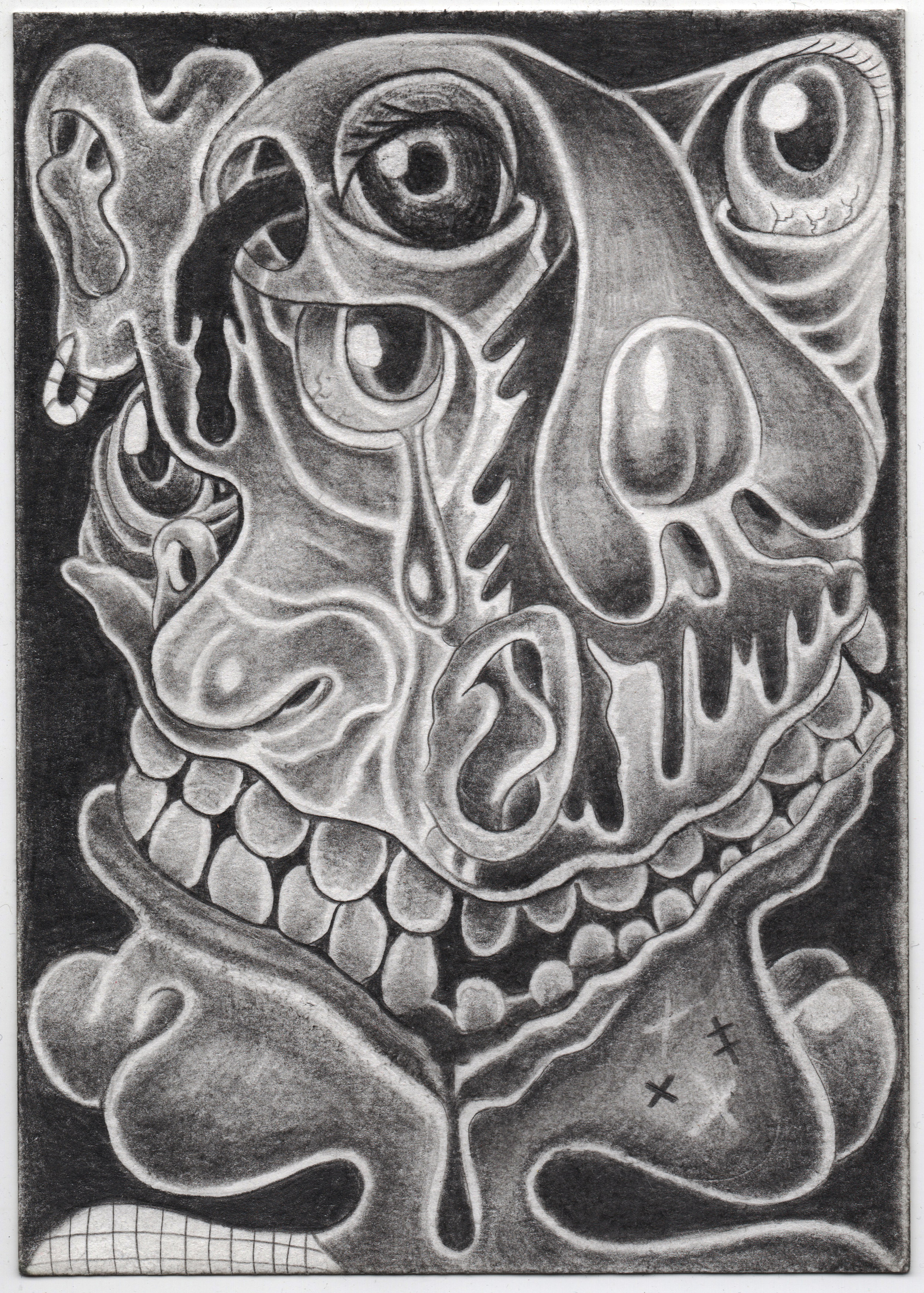 Hot N Cold (graphite)