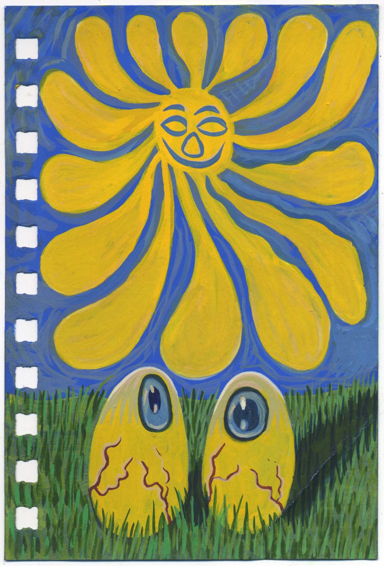 Sunny Side Egg Eyes/Sun