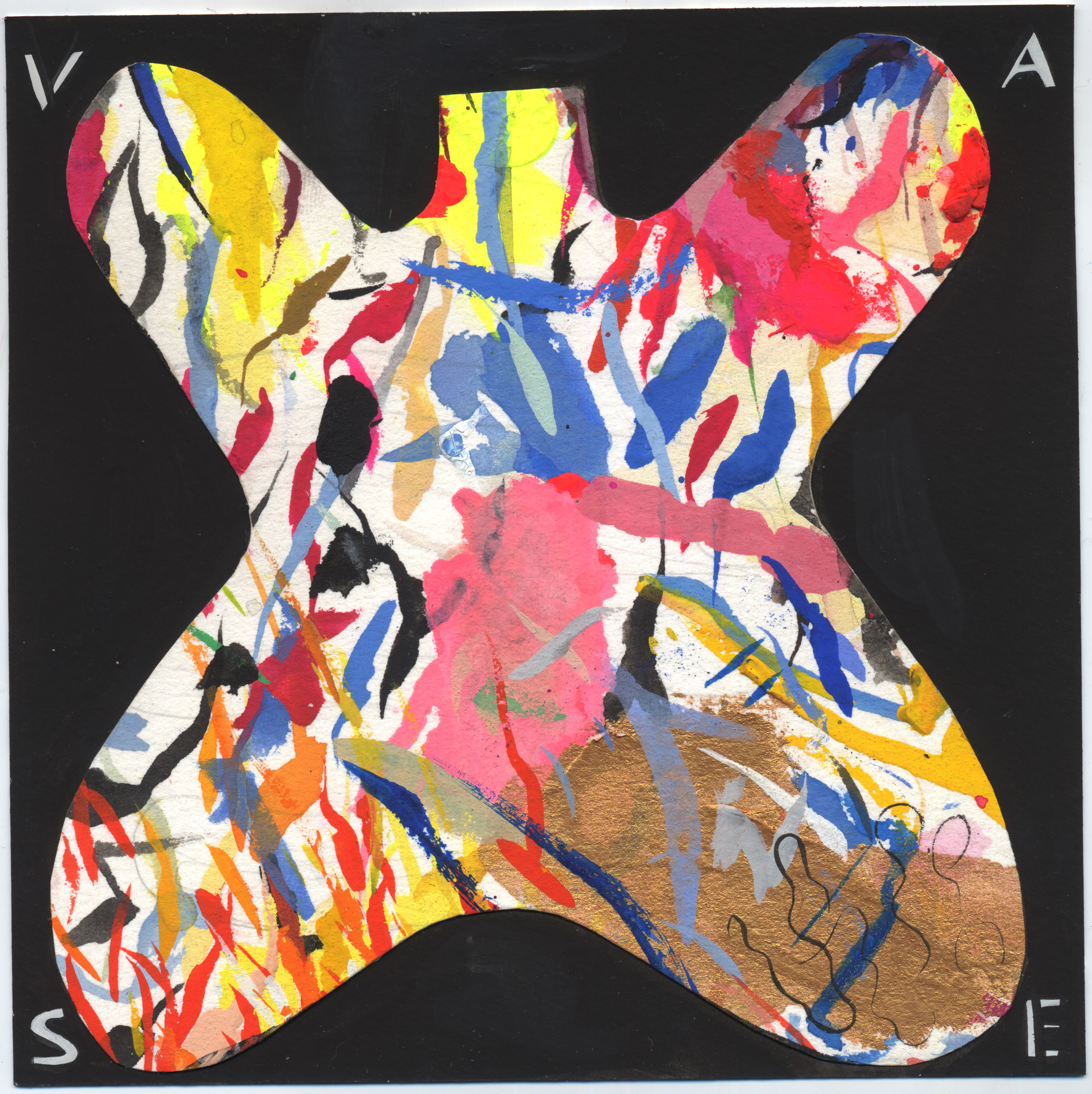 Untitled Vase #3 (Butterfly)