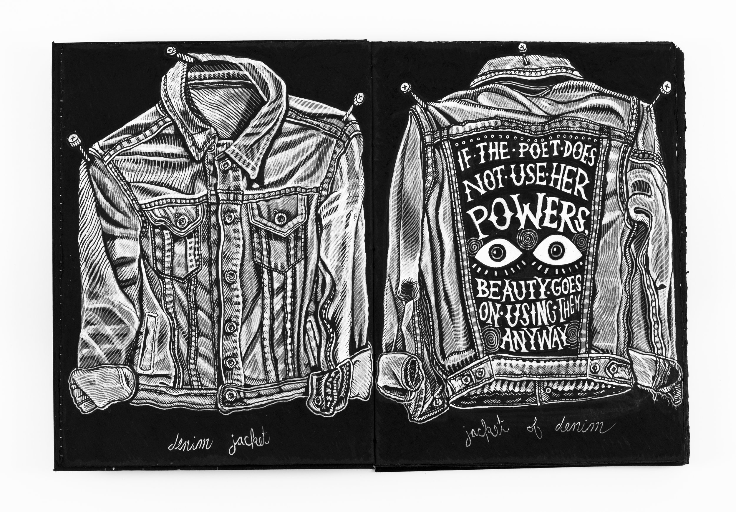 Drawing for Jacket