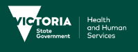 Victoria State Government Department of Health and Human Services logo