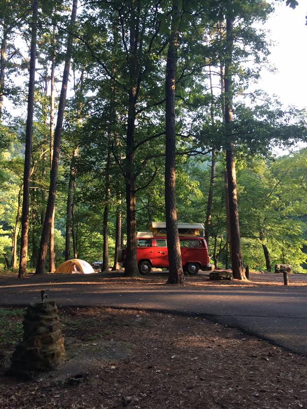 Long Pool Campground. Photo by Brooke Allen.