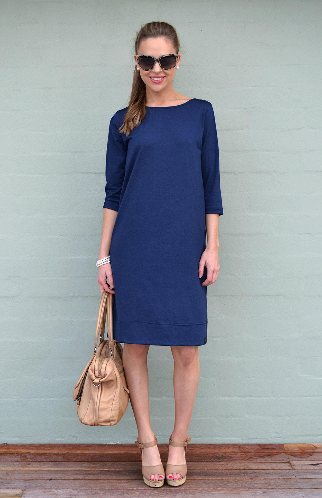 Indigo Audrey Dress- Shop the colour range  here