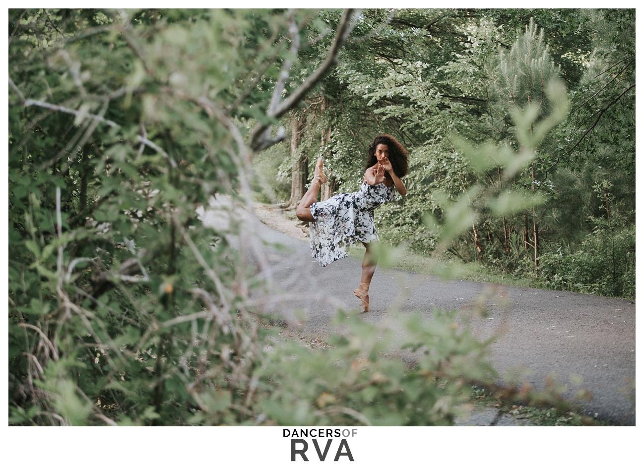 Richmond Virginia Dance Photographer Deep Run Park Stavna Ballet