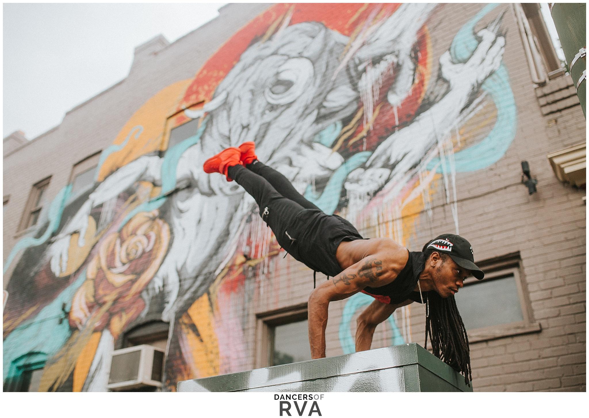 Richmond-Dance-Photographer- Dancers-of-RVA-Latin-Ballet-J.Static-Gianna-Grace-Photography-Carytown-RVA-Mural-Photoshoot