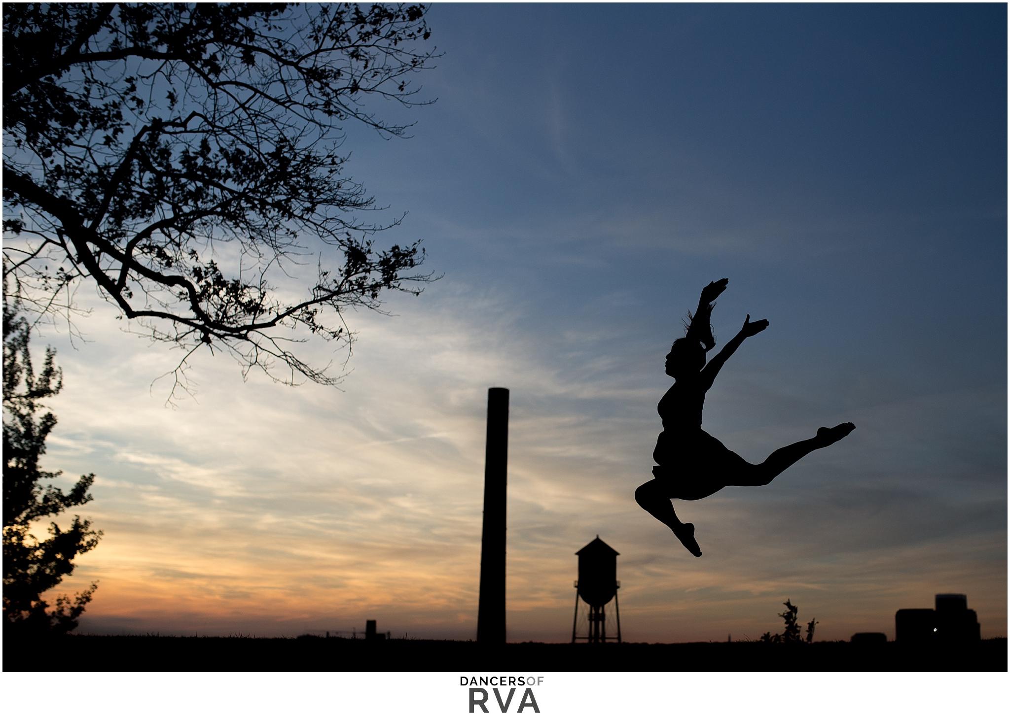 Libby Hill Richmond VA Sunset Silhouette Gianna Grace Photography