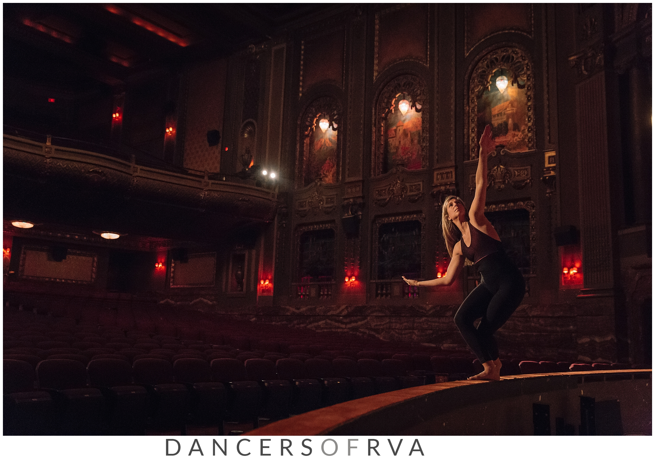 Dancer at the Byrd Theatre