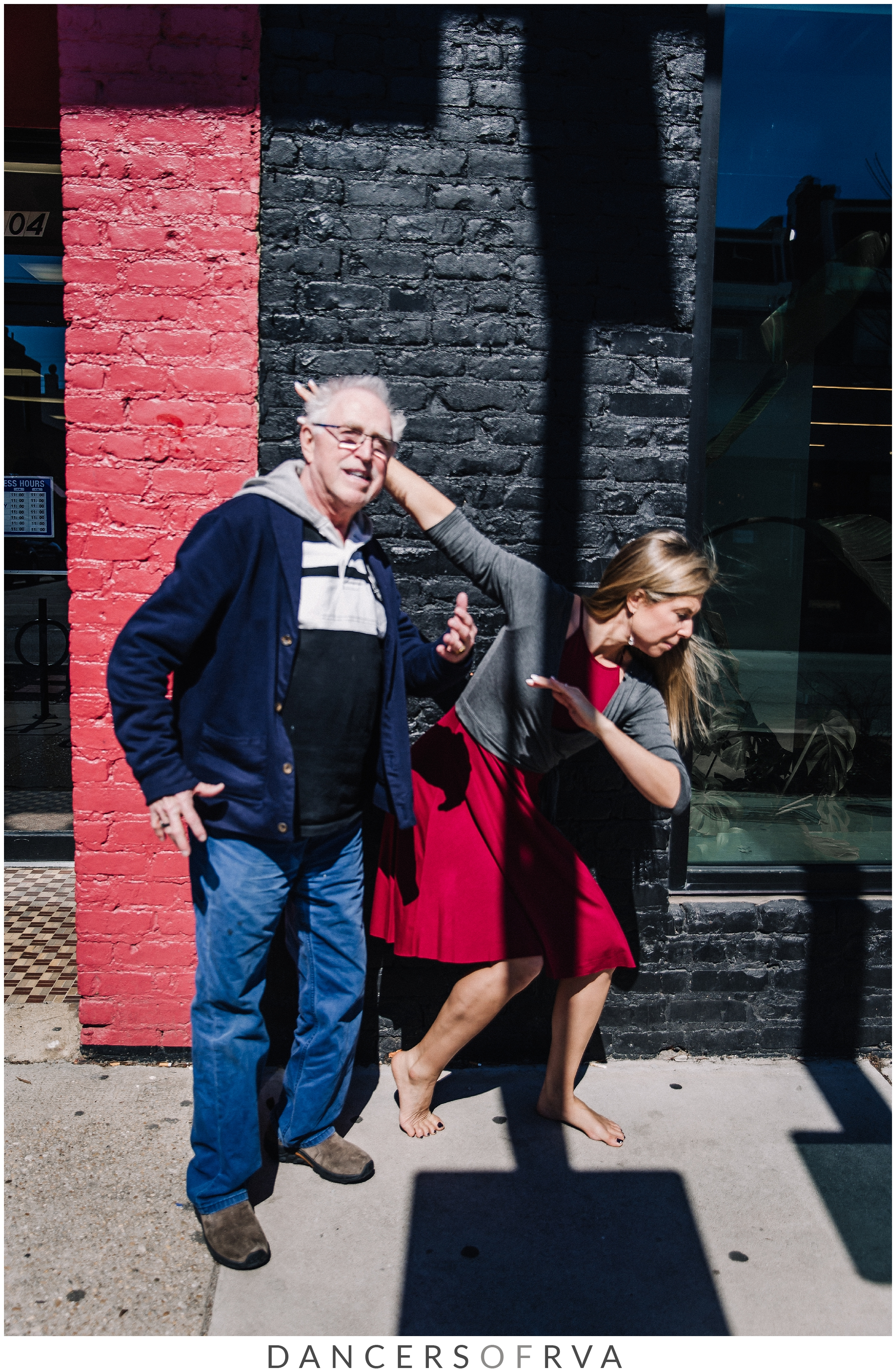 bill the photo bomber in carytown