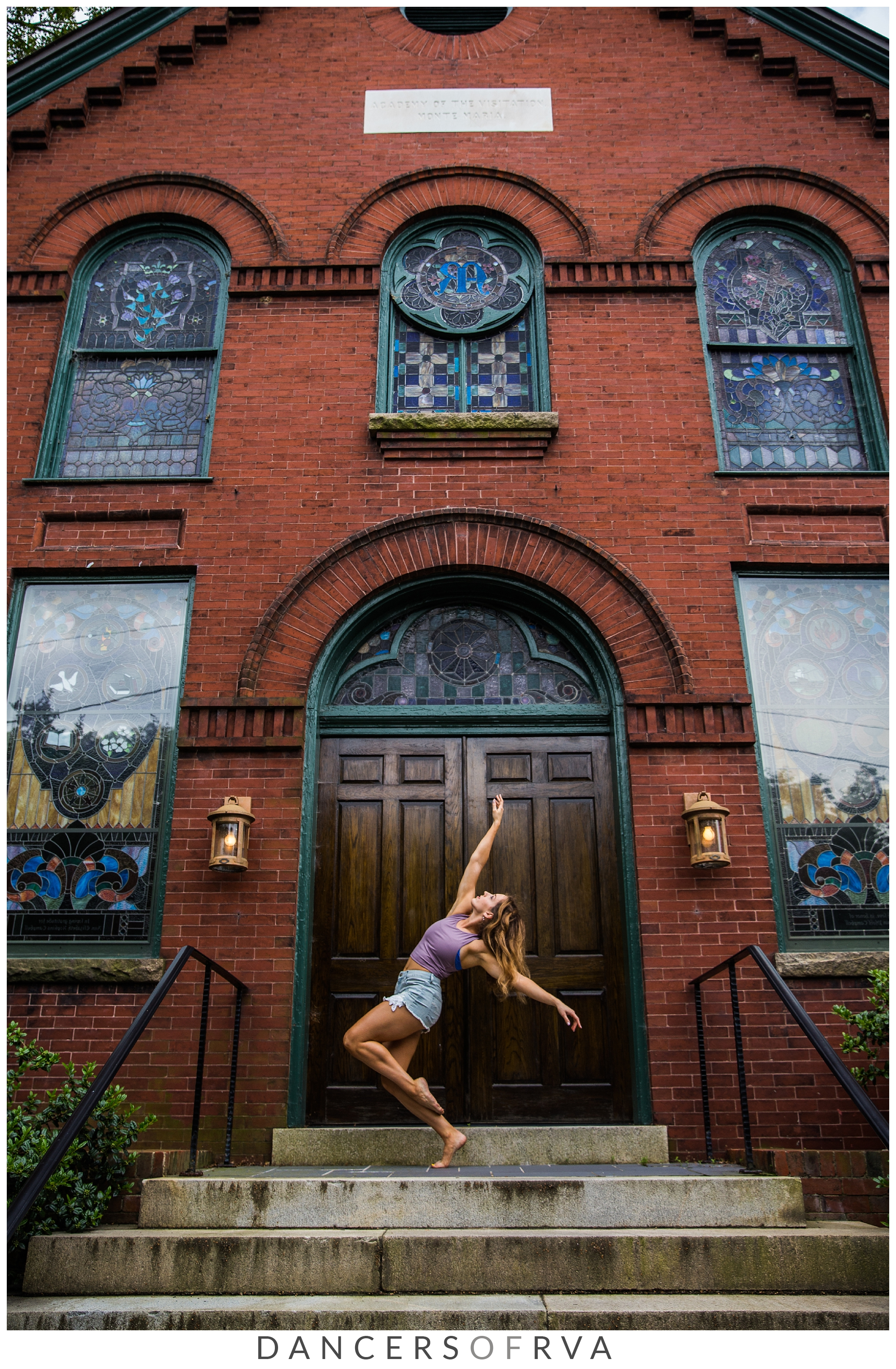 RVA Dancer in church hill