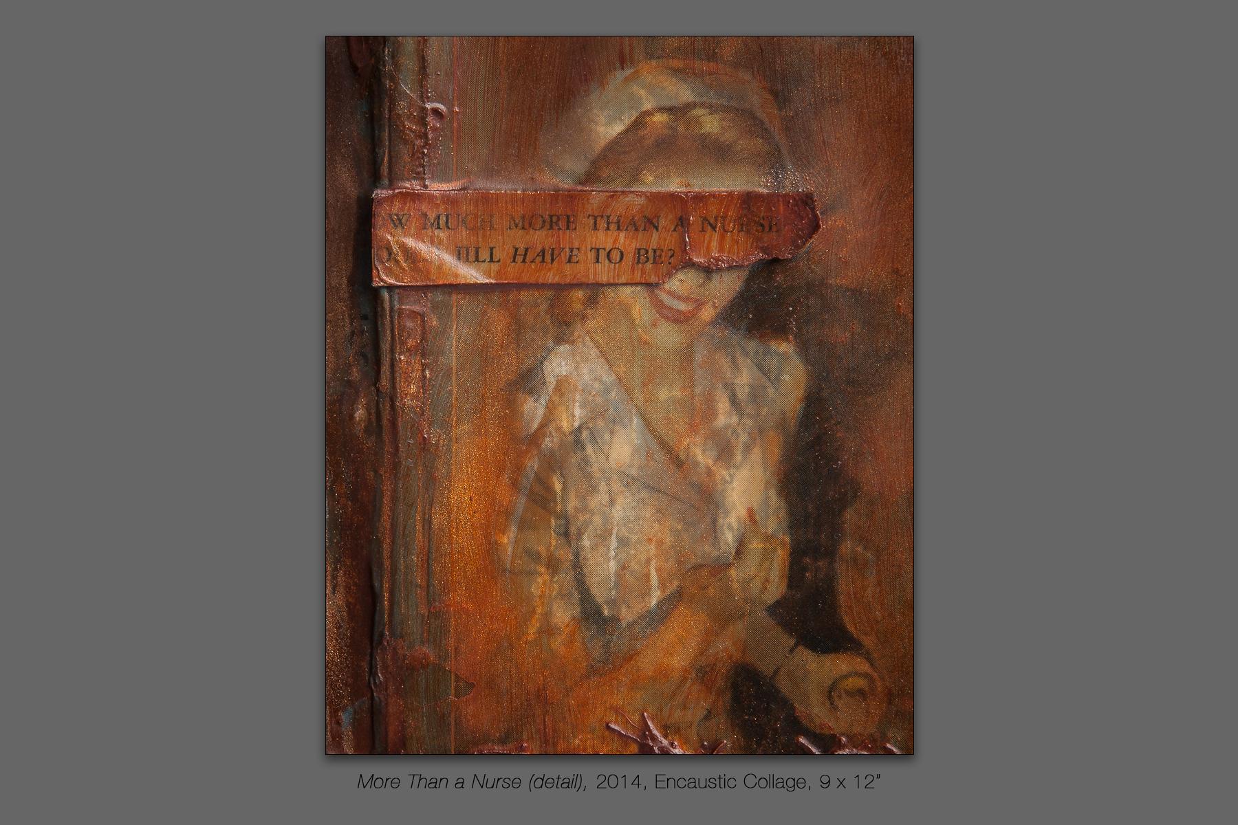 More Than a Nurse (detail), 2014