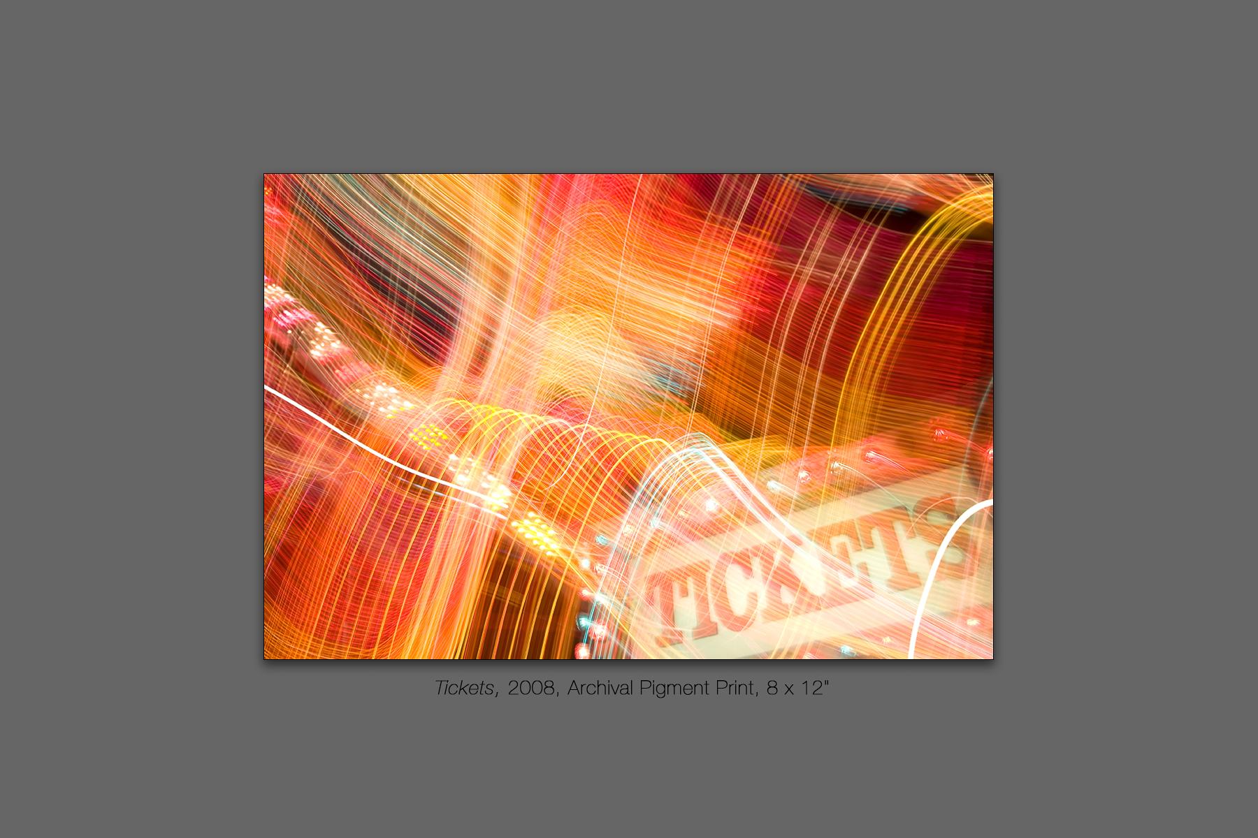 Tickets, 2008