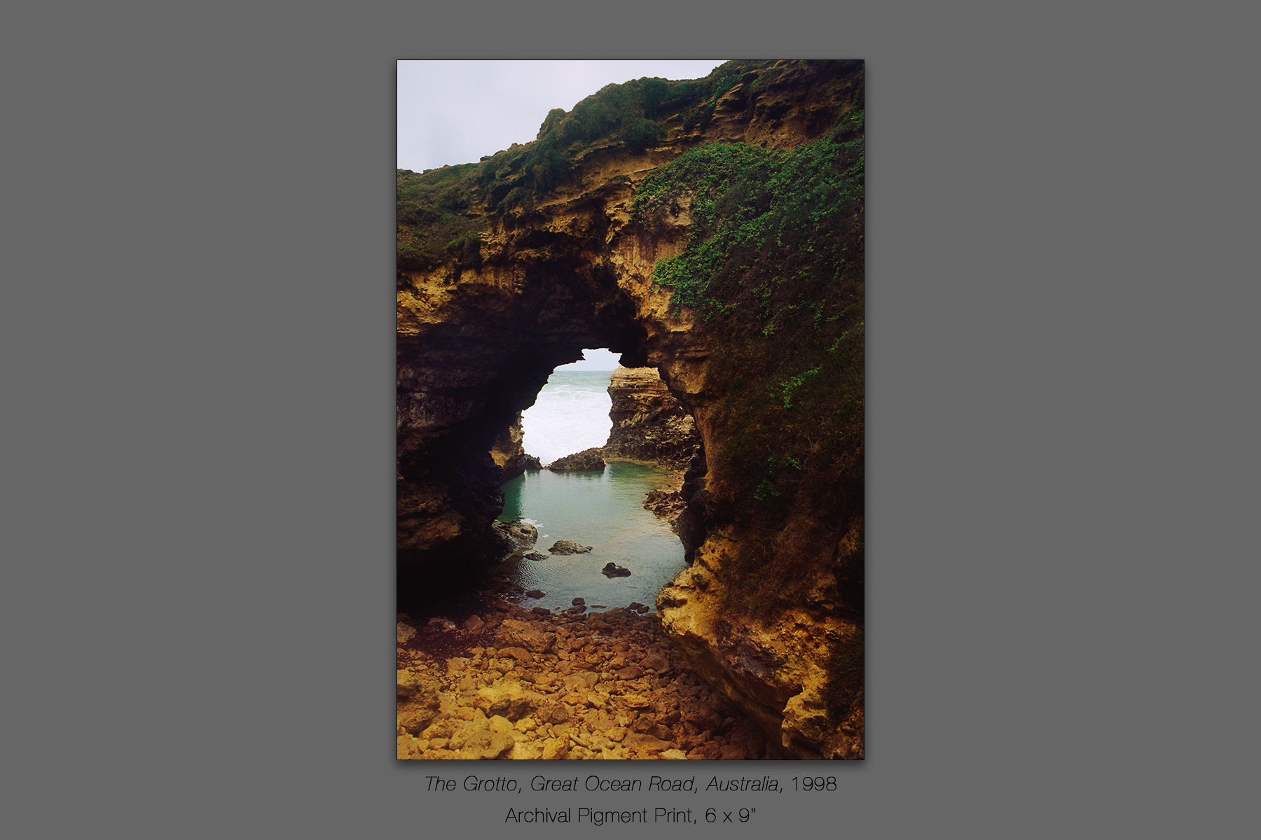 The Grotto, Great Ocean Road, Victoria, Australia,1998