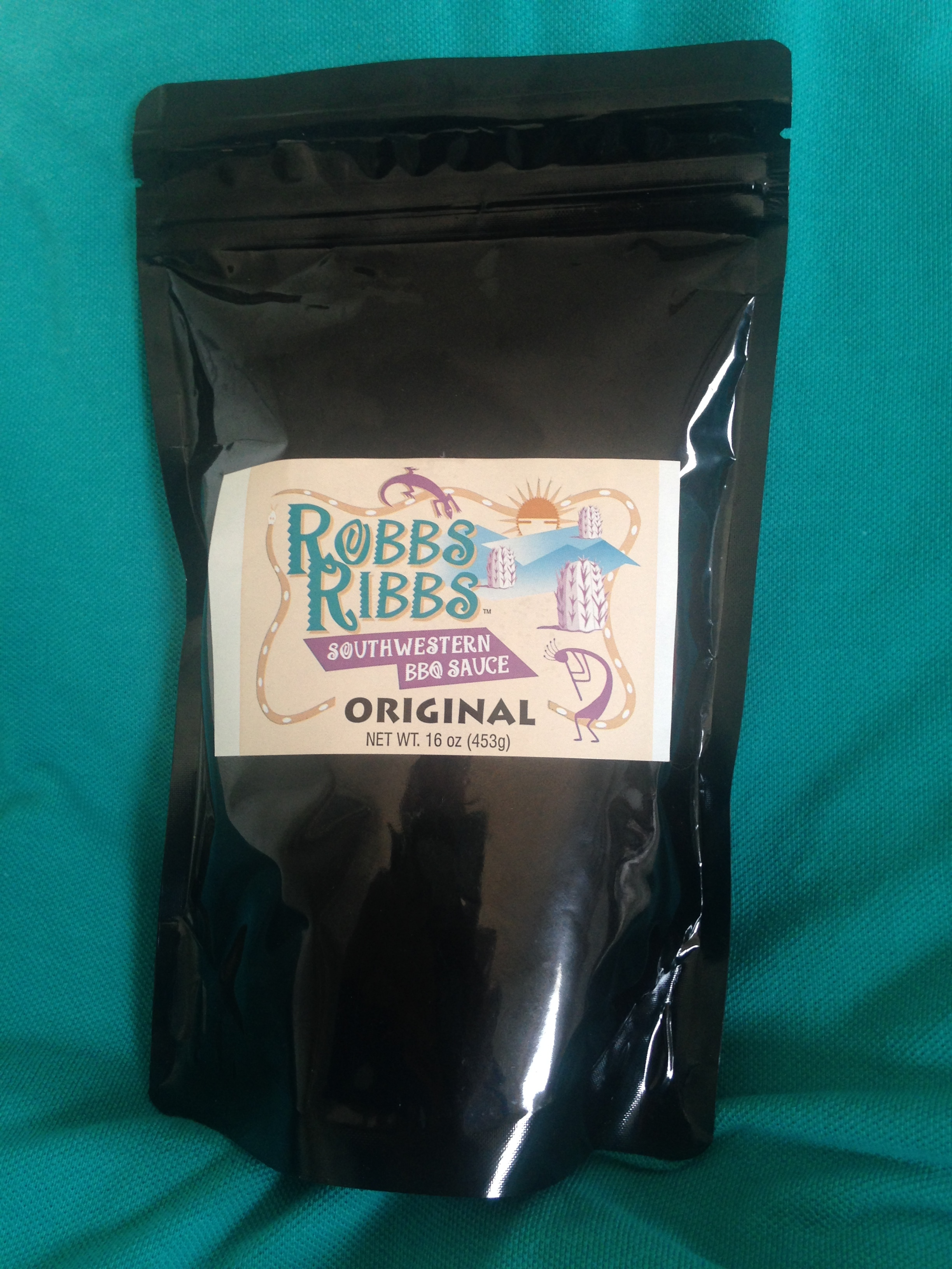 Robb's Dried BBQ Sauce - in an easy to ship, store and use dry powder.
