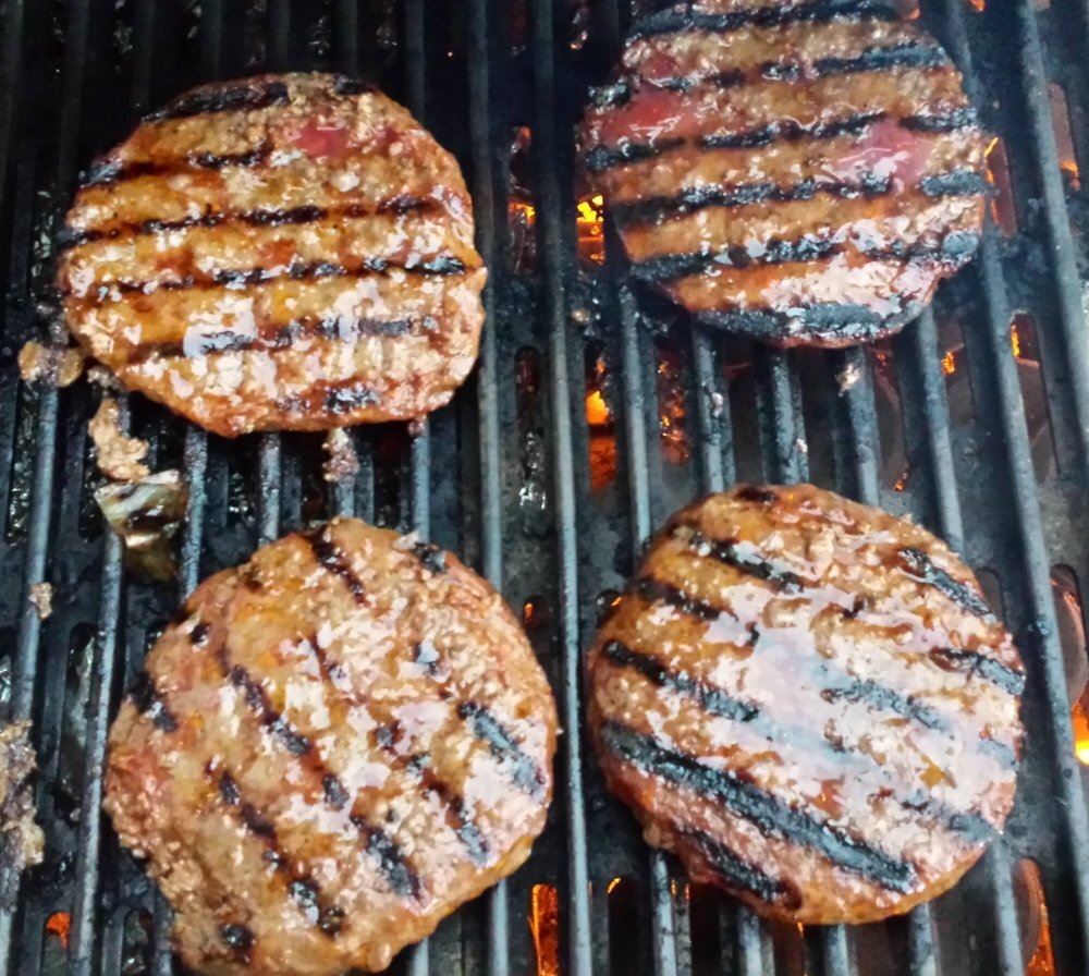 Mixed In - For ground meats, you can mix 3 tablespoons of Robb's Ribbs Amazing Glaze for even 1 pound of meat. Once the glaze is mixed in well, form the meat into patties, a loaf, or your preferred shape. Then grill, pan-fry, or bake.
