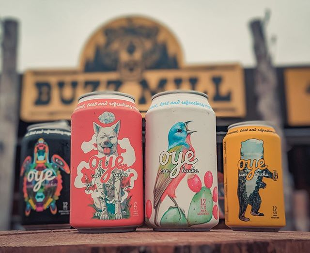 Y'all thirsty? During the month of March, @buzzmillcoffee is donating a portion of the proceeds from Oye Canbucha to Austin Pets Alive! and Austin Wildlife Rescue. 🤠 . . . #giveadamn #atxdrinks #atxhappyhour #sxsw #austinlife #austin360 #austintexas #365thingsaustin #atxfoodie #atxeats #austinfood #austineats