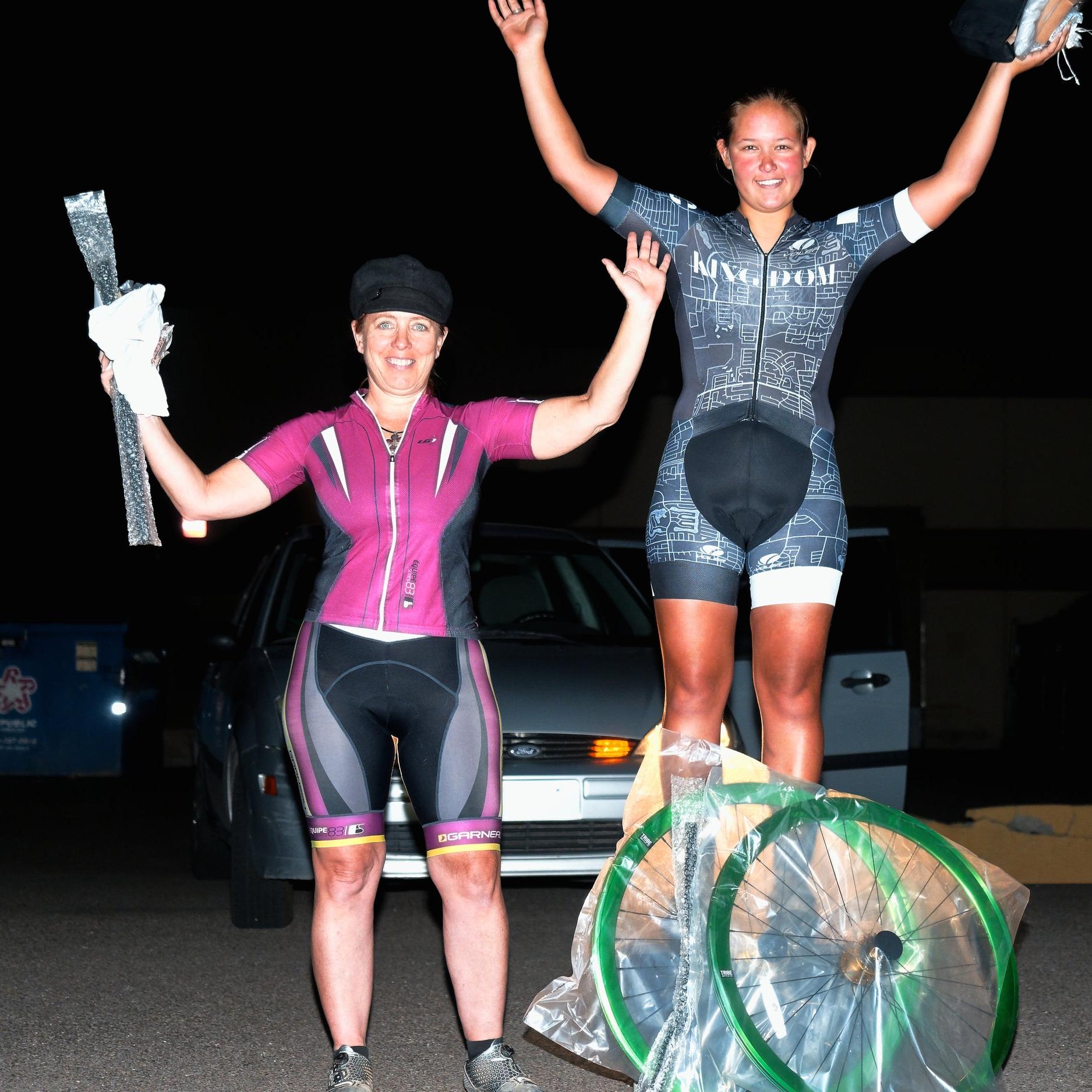 Women's race - 1st place.