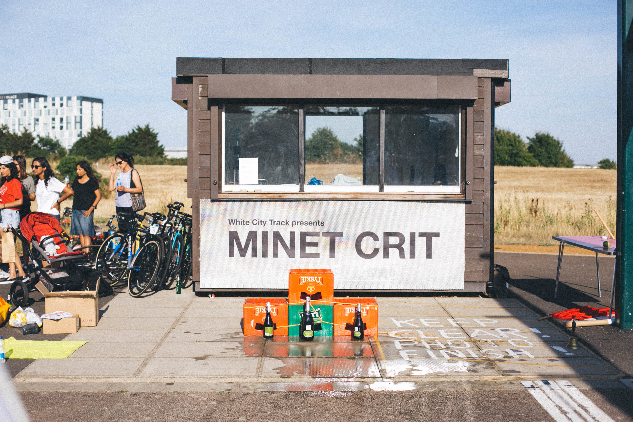 The podium Minet Crit