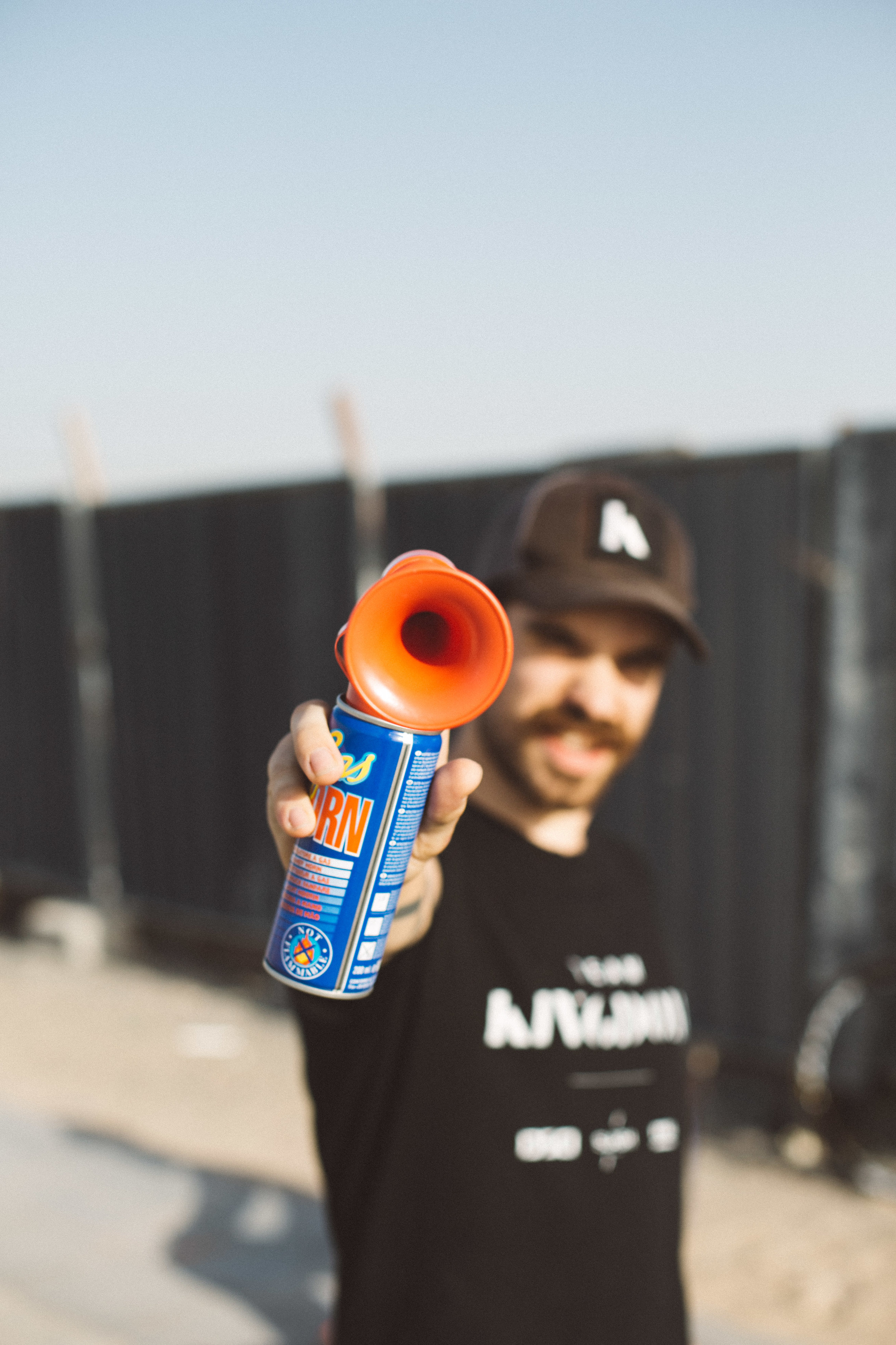 Air horn Kingdom Crit Dubai