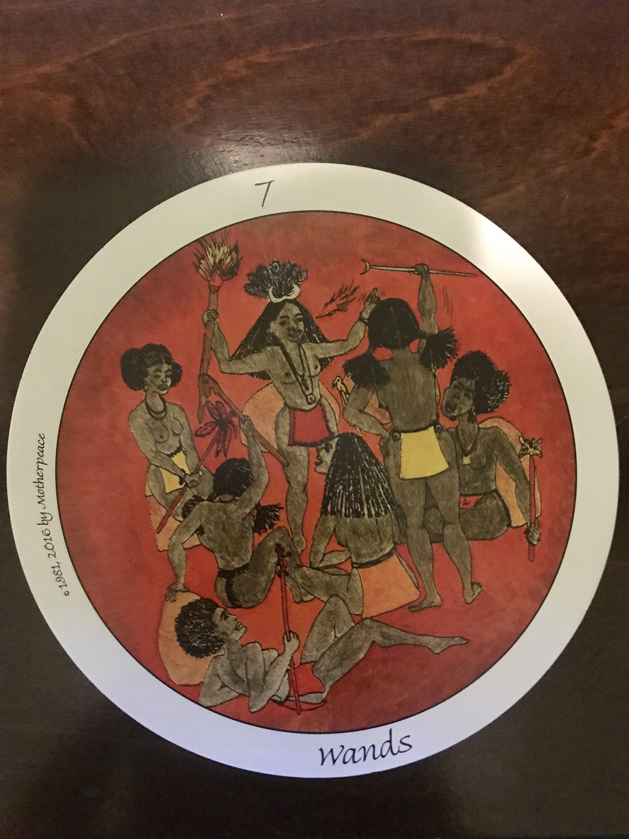 The Motherpeace Tarot